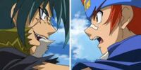 Gingka vs Kyoya