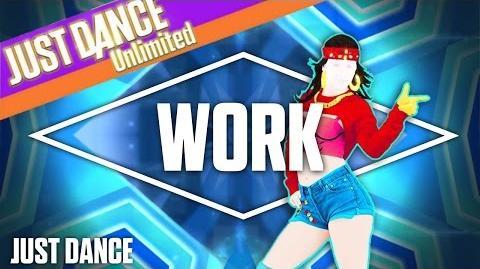 Work by Rihanna ft. Drake Just Dance FanMashup