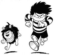Dennis and Gnasher-