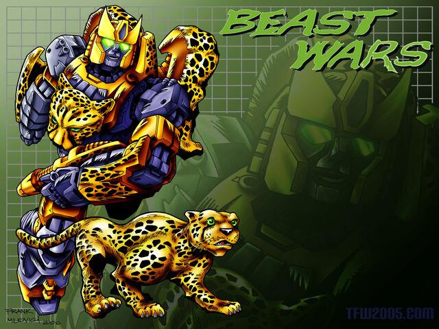 File:Beast Wars Cheetor Art 1600 x 1200.jpg