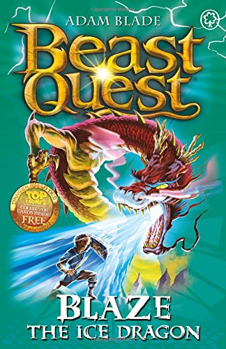 Cook Book Cover Quest : Blaze the ice dragon beast quest wiki fandom powered