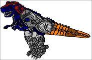 Transmetal Galvatron Beast Mode