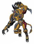 Beast Wars TM2 Cheetor
