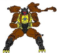 Beast Wars Grizzly-1