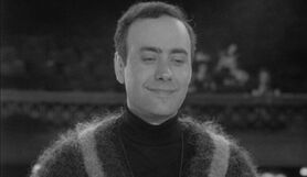Victor Spinetti as the TV Director