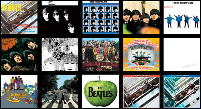 File:Beatles Albums.png