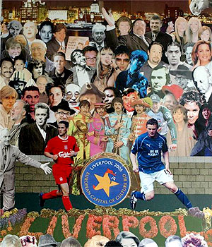 Peter Blake Sgt Pepper style cover 2003