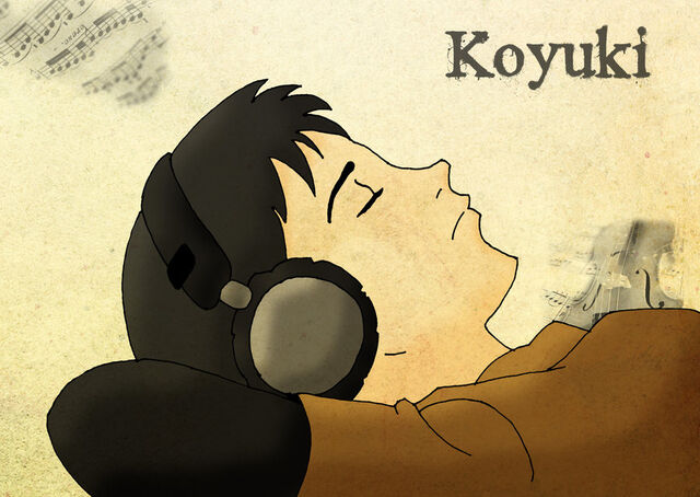 File:Koyuki Tanaka listens Music by TheStobo.jpg