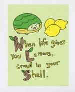 WLF lemons print