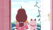 Bee and PuppyCat holding hands