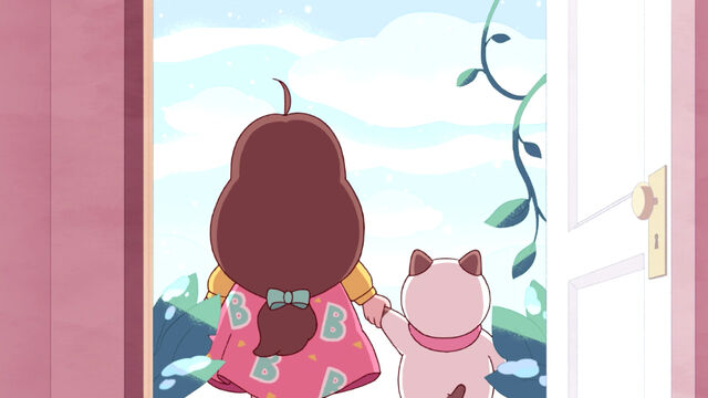 File:Bee and PuppyCat holding hands.jpg