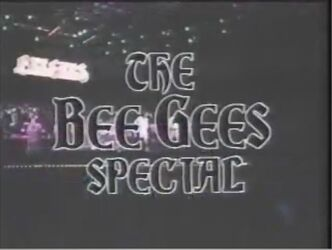 The Bee Gees Special Title Card