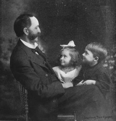 File:William Z. Hutchinson, apiarist (with grandchildren).jpg