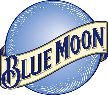 """Brewed with white wheat and oats, Blue Moon features a crisp wheat finish and the perfect combination of orange peel and coriander. Bring out Blue Moon's natural spices by serving it in a Pilsner glass with an orange-slice garnish."""