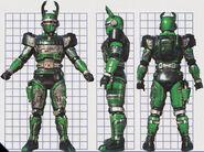 Green Hunter Borg