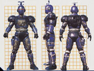 Blue Stinger Borg