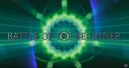 Battle of the beginner title card
