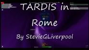 TITLECARD TARDIS In Rome