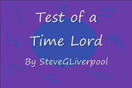 TITLECARD Test of a Time Lord