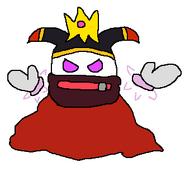 Magolor wearing Conqueror's Crown (beta)