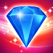 Bejeweled Blitz Square Icon (Red)