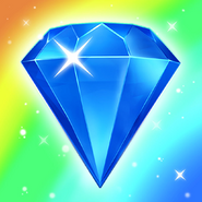 Bejeweled Blitz Square Icon (Rainbow)