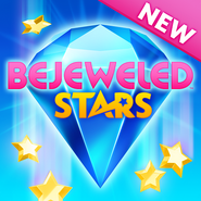 Bejeweled Stars New Blue Gem Icon