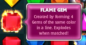 Bejeweled 3 FLAMEGEM