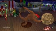 Humungousaur bowling