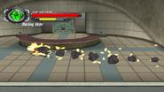 Heatblast super speed