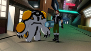 Cannonbolt and Ben 10,000