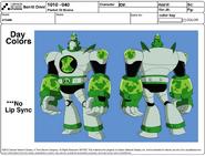 Atomix Model sheet