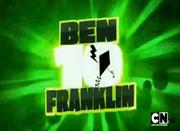 MAD ben 10 franklin logo