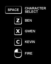 Ben10AF ForeverDefense controls