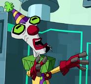 Blukic as Clown