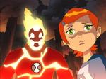 Heatblast and Gwen