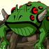Mutant frog ov character