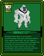 Trading Cards UH (Ult Snow Bear)