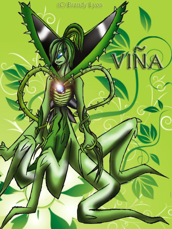 VINA FEMALE WILDVINE COLORED by DITTOFAN04