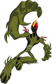 Pose of Swampfire