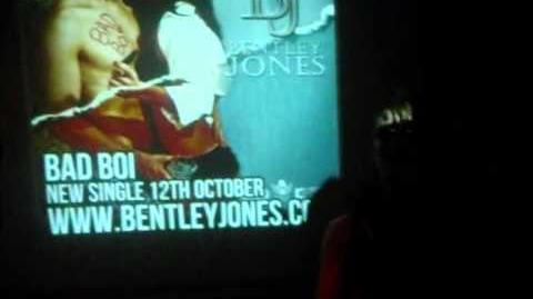 "Bentley Jones - ""Bad Boi"" At Japan Underground (Sept 2011)"