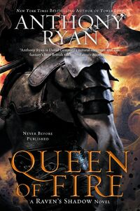 Queen of Fire (US Cover)