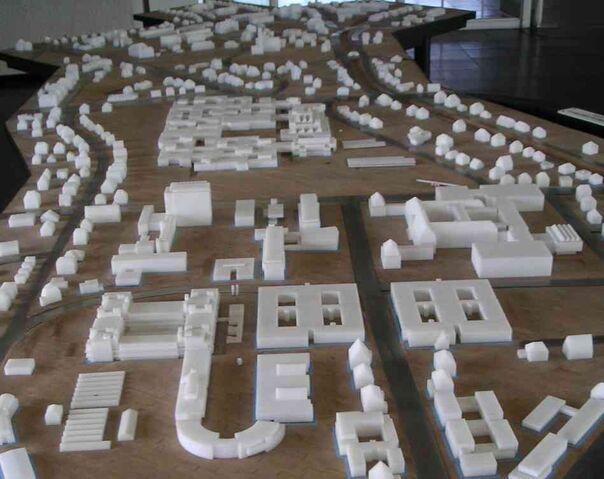 Datei:Freie Universität Berlin - Campusgelände - Modell.jpg