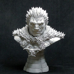 Zodd human form bust released by <a rel=