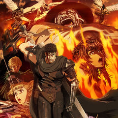 Promotional poster art depicting the main characters of the <a href=