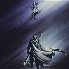 Guts intimidated by Griffith's dream.