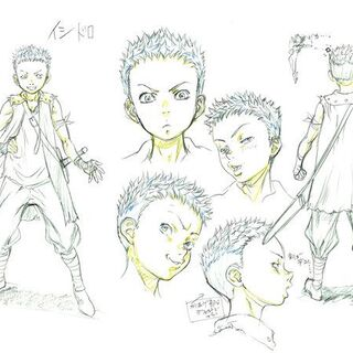 Isidro concept sketches for the <a href=