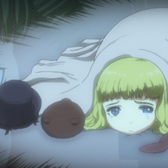 Farnese has a brief flashback to her youth.