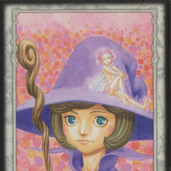 Ivalera sits atop Schierke's hat. (Secret card 17)