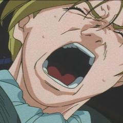 Judeau shouts in despair.